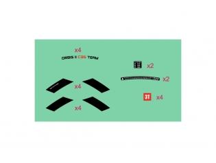 Orbis II C35 TEAM STEALTH Wheelset Sticker