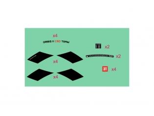 Orbis II C50 TEAM STEALTH Wheelset Sticker
